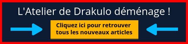 L'Atelier de Drakulo déménage vers Esprit Unity